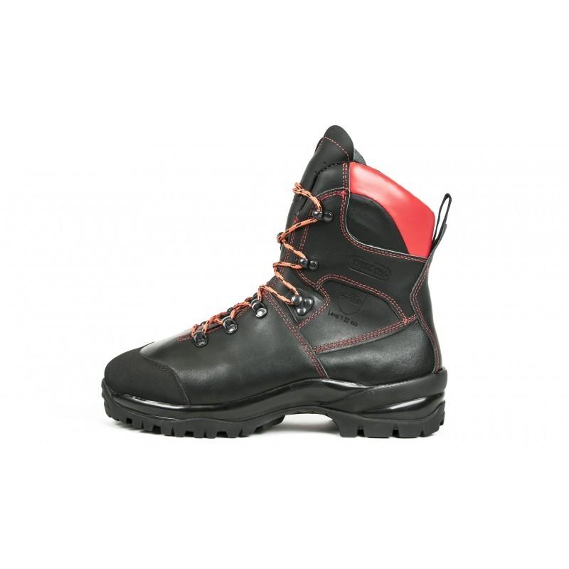 62e32e43c43 Protipořezové kožené boty - WAIPOUA